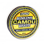 plecionka 0,20mm/400m 22lb sinking camou braid mad