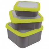 pudeŁko bait box 0,52l grey/lime matrix
