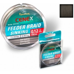 plecionka 0,12mm/150m cenex sinking feeder braid browning