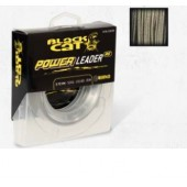 plecionka przyponowa power leader 0,70mm/50kg 20m black cat