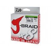 j-braid x8 0,24mm/150m chartreuse daiwa