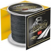 octa braid 0,08mm/300m black nihonto mikado
