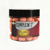 complex-t 15mm fluro pop-up boiles & dumbell dynamite baits