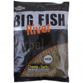 big fish river pellet cheese-garlic 4/6/8mm dynamite baits