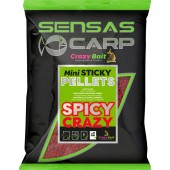 mini sticky pellets spicy crazy 700g sensas