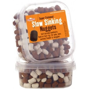 nuggets pellet slow sinking white/brown dynamite baits