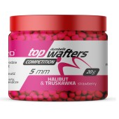 halibut-strawberry 5mm wafters dumbells match pro