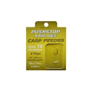 przypon 16/0.20mm pushstop carp feeder high rigs